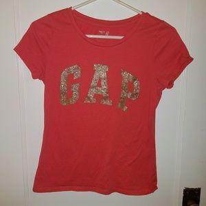 Like new Gap sparkly t shirt sz 13 XXL